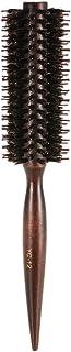 Anself 1pc Round Comb Bristle Hair Brush Comb Quiff Curling Rolling Brush Wood Handle