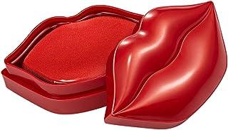 Exceart - 20 maschere per labbra in cristallo di collagene, per nutrire le labbra idratanti, maschera da sonno anti-età