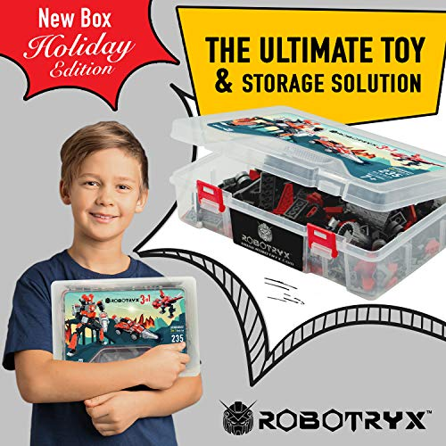 Robot STEM Toy | 3 In 1 Fun Creative Set | Construction Building Toys For Boys and Girls Ages 6-14 Years Old | Best Toy Gift For Kids | Free Poster Kit