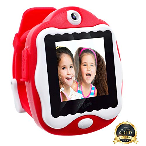 Durable Smart Watch for Kids, Gadgets Games for Kids Ages 4-8 Girls, Digital Video Games Built in Selfie-Camera Watches, Electronics Educational Toys Kids Camera