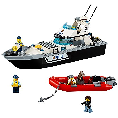 LEGO City Police Patrol Boat (200 Piece)