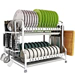 Chun-li-Double-layer-304-Stainless-Steel-Dish-Rack-Cutting-Board-Rack-For-Kitchen-Countertops-And-Kitchen-Drain-Rack-Storage-Rack