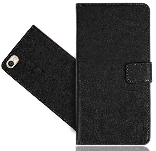 Xiaomi Redmi Note 5A / Note 5A Prime Handy Tasche, FoneExpert® Wallet Hülle Cover Genuine Hüllen Etui Hülle Ledertasche Lederhülle Schutzhülle Für Xiaomi Redmi Note 5A / Note 5A Prime