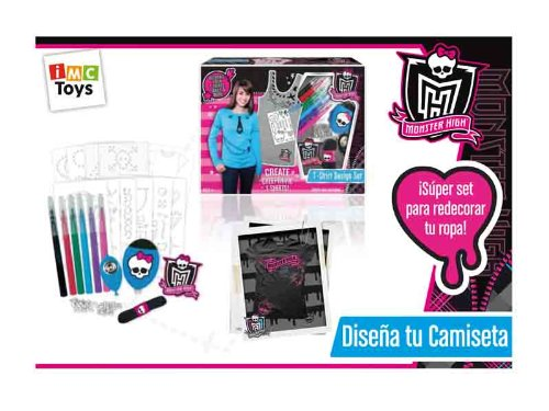 IMC Toys 87018 - Monster High, gestalte Dein T-Shirt
