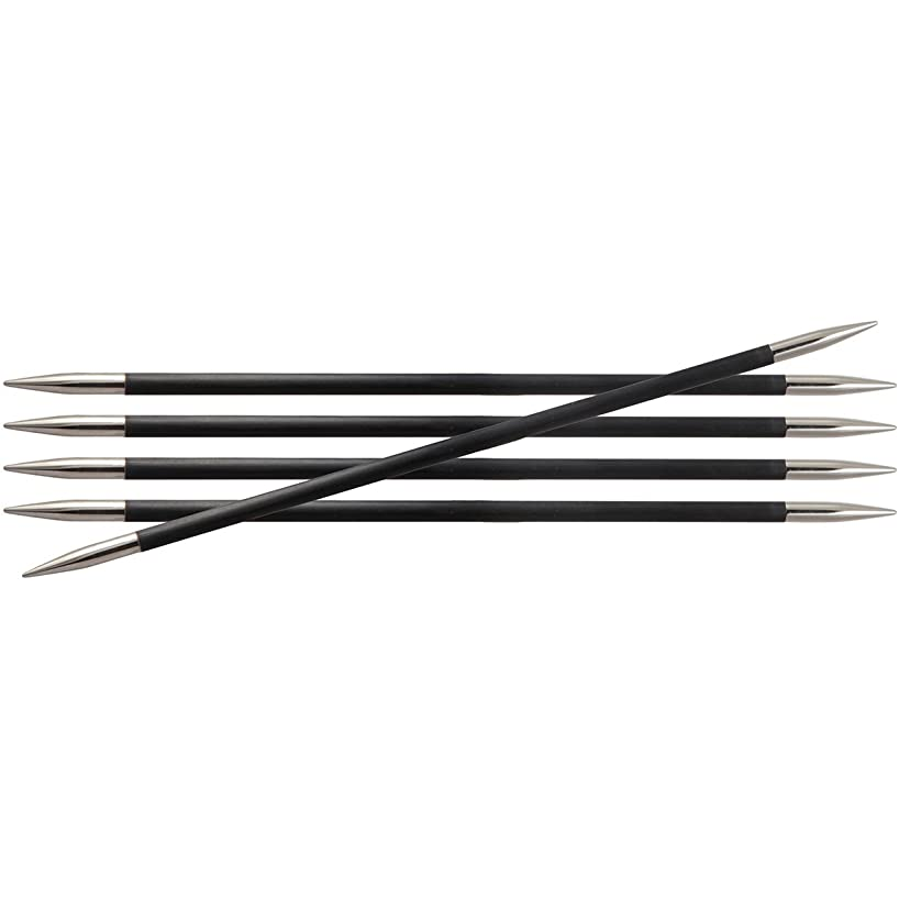 Knitter's Pride KP110121 0000/1.25mm Karbonz Double Pointed Needles, 8