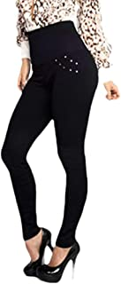 Women's Butt Lift Tummy Control Pure Colour High Waisted Tights Legging Black US X-S=China S
