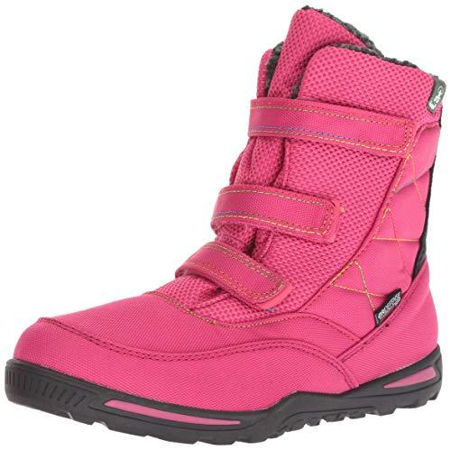 Kamik Girl's Hayden Snow Boot, bright rose, 4 Medium US Big Kid