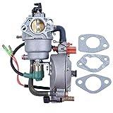 Auto Choke Dual Fuel Carburetor Carb Gasket For Honda GX390 Chinese 188F 190F 4.5-5.5KW Motor Engine Generator LPG/CNG/Gasoline