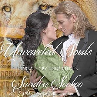 Unraveled Souls: An Erotic Victorian Novel audiobook cover art