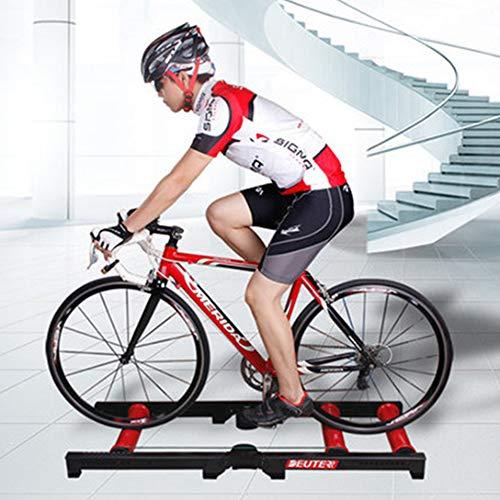 Yang Fahrrad-Trainingsständer für den Innenbereich, zusammenklappbar, Mountainbike/Rennrad/Klapprad, ultra-leise, für 26-29 Zoll Fahrräder