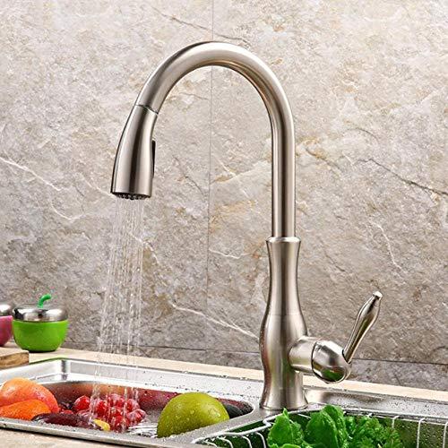 Kraan trekken uit keuken wastafel kraan wassen kom van warm en koud water draak zwembad in de keuken roteren de wastafel tik trekken uit kraanvogels