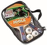 JOOLA DUO Set de tennis de table avec 2 raquettes et 3 balles