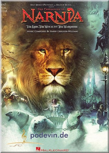 The Chronicles Of Narnia - The Lion, The Witch and The Wardrobe - Songbook Klavier, Gesang & Gitarre Noten [Musiknoten]