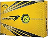 Callaway Warbird Golf Ball, Prior Generation, (One Dozen), Yellow, Prior Generation