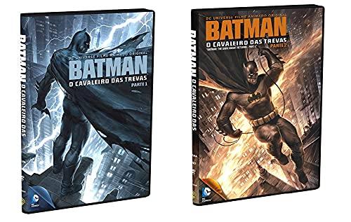 Batman Cavaleiros das Trevas Parte 1 e 2 DVD (Animação)
