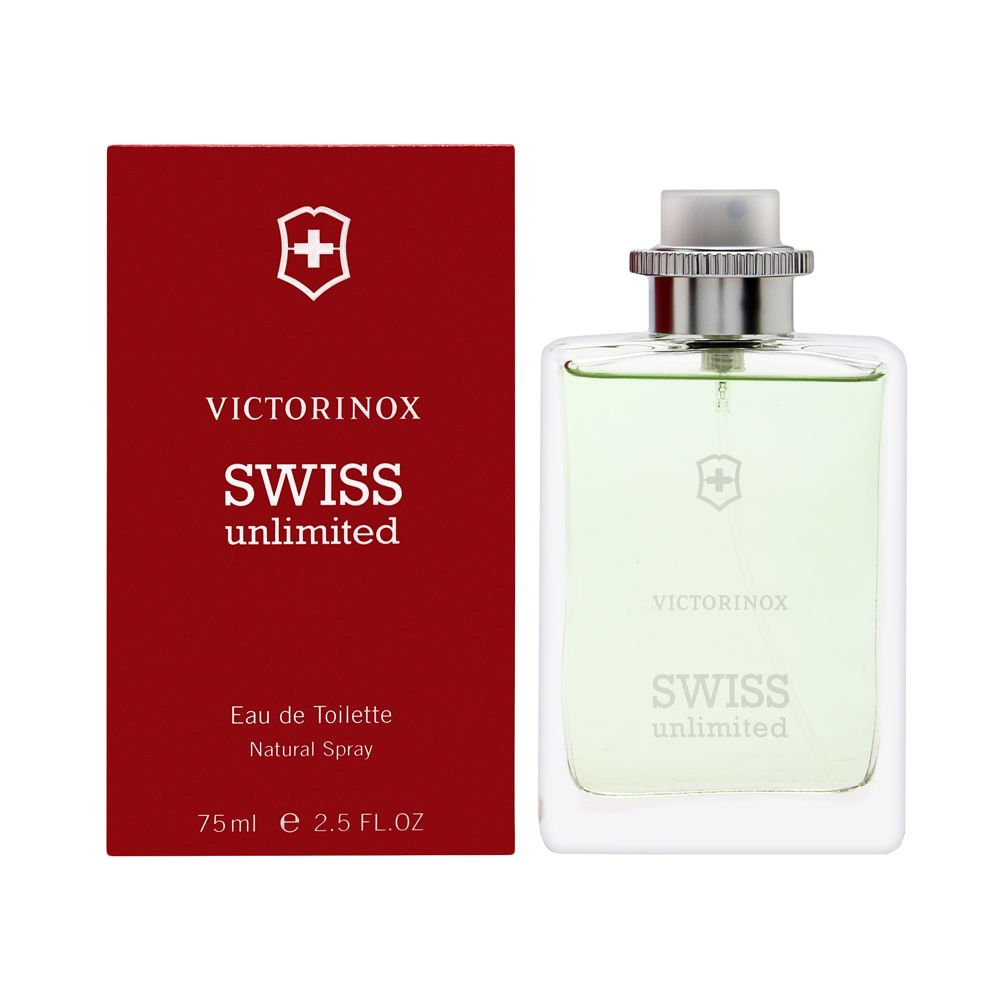 Swiss Army Unlimited Discount mail order for Men 2.5 de Toilette Eau oz New Shipping Free Spray