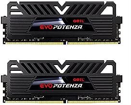 GeIL 16GB (2 x 8GB) EVO POTENZA DDR4 PC4-24000 3000MHz 288-Pin Desktop Memory Model GPB416GB3000C16ADC