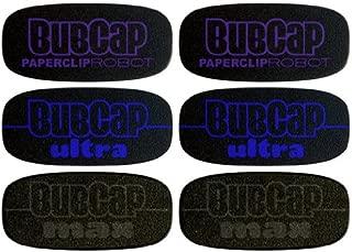BubCap Home Button Cover Explorer 6-Pack (2 each: BubCap, BubCap Ultra & BubCap Max)
