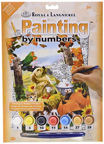 Royal & Langnickel Autumn Festival Design Paint by Numbers Kit