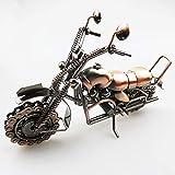 ETH Extra Grandi Mestieri Battuto Modello del Motociclo del Metallo del Ferro di...