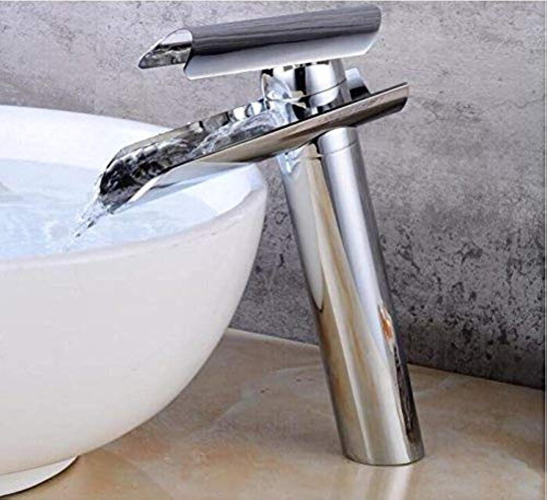 360 ° drehbaren Wasserhahn Retro Wasserhahn Waschbecken Wasserhahn Wasserfall Chrom Becken Mischbatterie