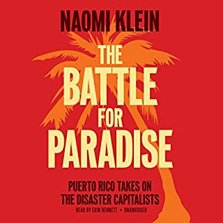 The Battle for Paradise audiobook cover art