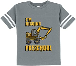 I'm Digging Preschool Gift for Tractor Loving Boys Toddler Jersey T-Shirt