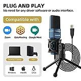 Zoom IMG-1 tonor pc microfono usb condensatore