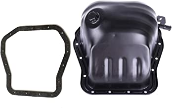 Aintier Engine Oil Pan for Subaru Legacy Baja for H4 2.2L 1.8L 2.5L with Oil Pan Gasket Iron with OE 264-601 Oil Drip Pan Oil Change Pan
