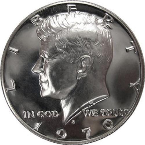 1970 S Max 82% OFF Proof Kennedy Silver Dollar Half Sacramento Mall