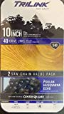 TriLink 10 Inch Saw Chain: 2 Chain Value Pack