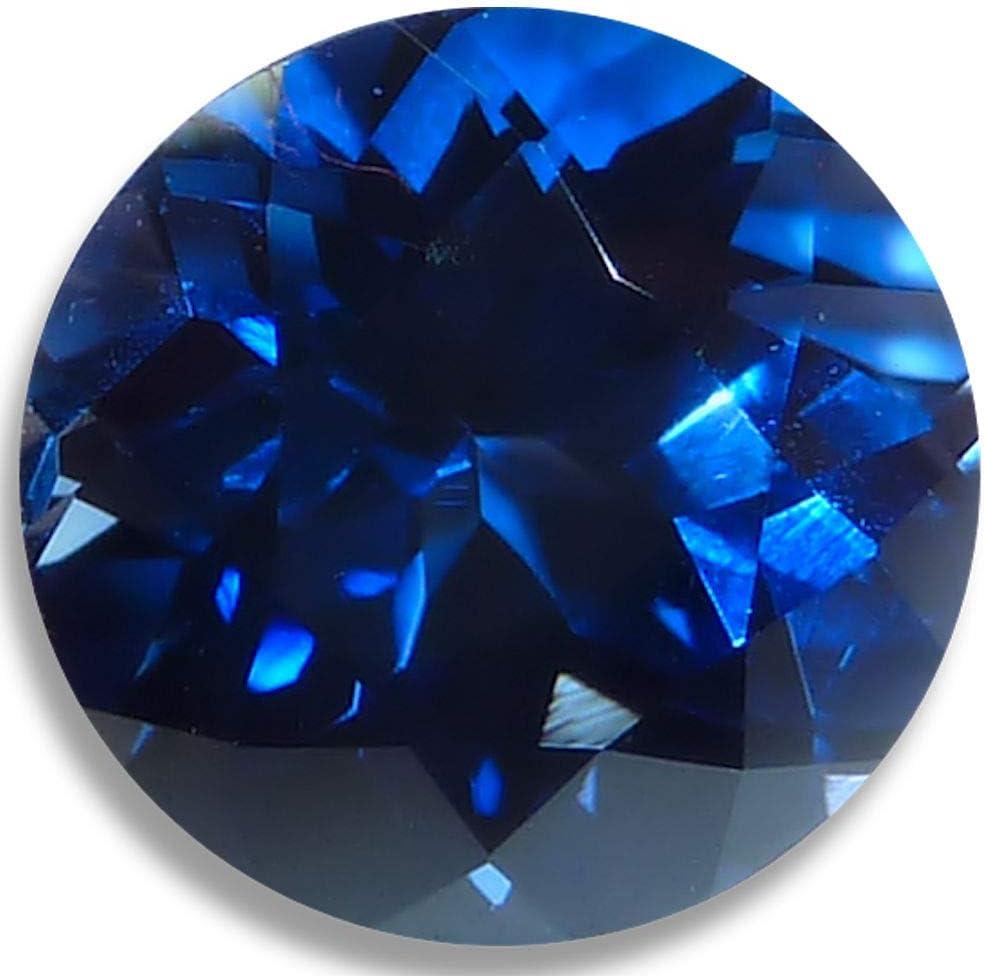 OptimaGem Lab Sapphire OFFicial Round 4mm-12mm Great interest Deep 7mm Loose Gemstones