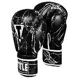 Title Boxing Marble Bag Gloves 2.0, Black/Silver, Medium