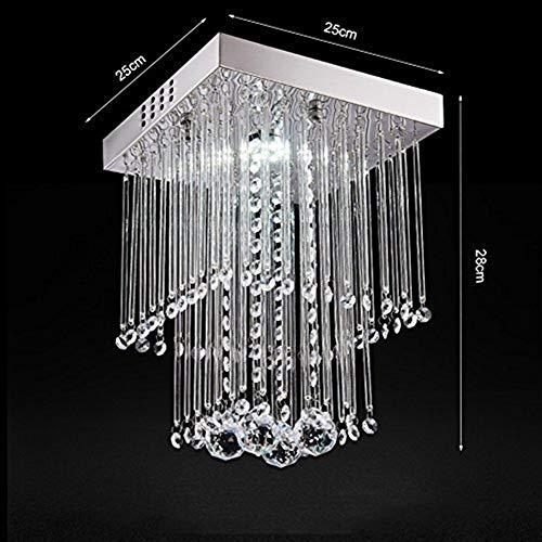 GYW-YW Luces colgantes Colgante de cristal de la lámpara lámpara moderna, iluminación Embedded Led lámpara de techo lámpara de vajilla Baño Dormitorio Sala de luces de la habitación