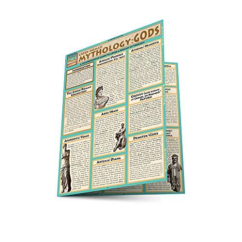 Mythology: Greek/Roman Gods (Quickstudy Reference Guides - Academic)