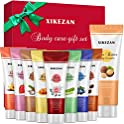 9-Pack Xikezan Travel Size Foot Hand Care Scrub & Body Cream Gifts Set