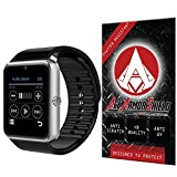 Ace Armor Shield Shatter Resistant Screen Protector for the Powerlead Bluetooth Phone Smart Watch / Military Grade / High Definition / Maximum Screen Coverage / Supreme Touch Sensitivity /Dry or Wet Easy Installation with free lifetime replacement warranty