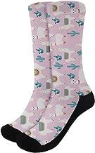Coloranimal Novelty Funny Crazy Crew Socks for Unisex Women Men Cushion Athletic Sports Socks