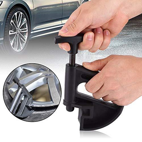 Abrazadera del cambiador de neumáticos, herramienta de centro de caída de la abrazadera del cambiador de neumáticos Ayudante de cambio de rueda de palanca de borde universal