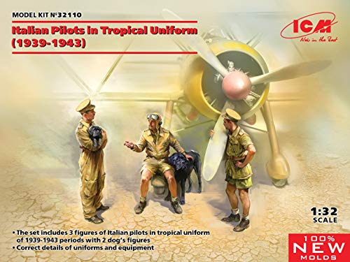1/32 イタリア空軍 パイロット 熱帯仕様 1939-1943 プラモデル 32110
