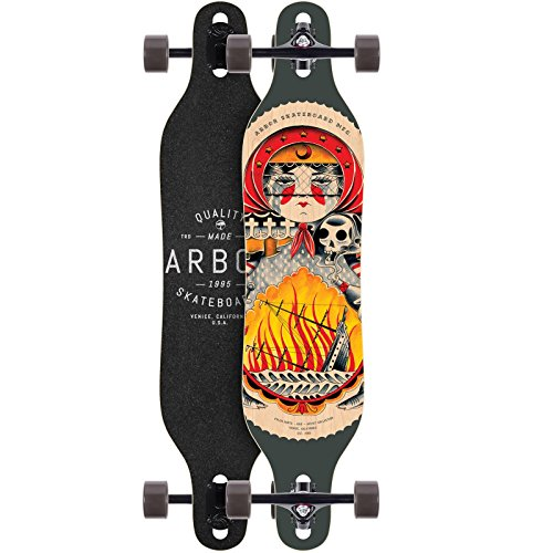 Arbor Longboard Axis GT Artist Collection 40 Zoll (101,6cm), Size: 40 Zoll - (102cm)