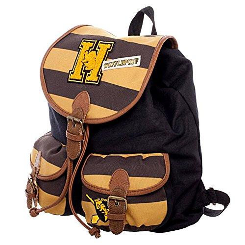 Harry Potter Hufflepuff Varsity Knapsack Backpack 14 x 17in