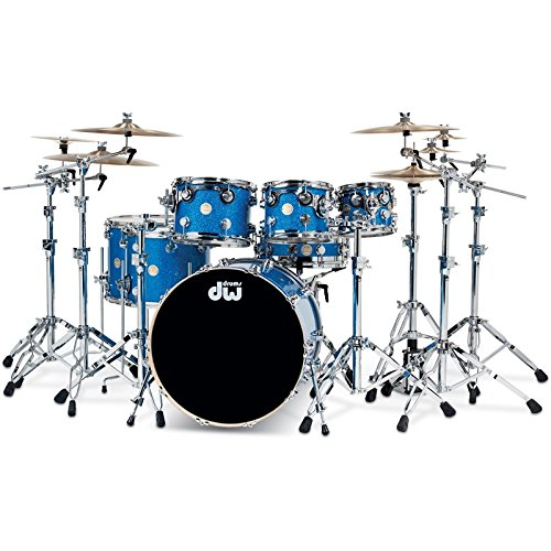 DW Drums Collector 's Maple 3PZ Blue Glass