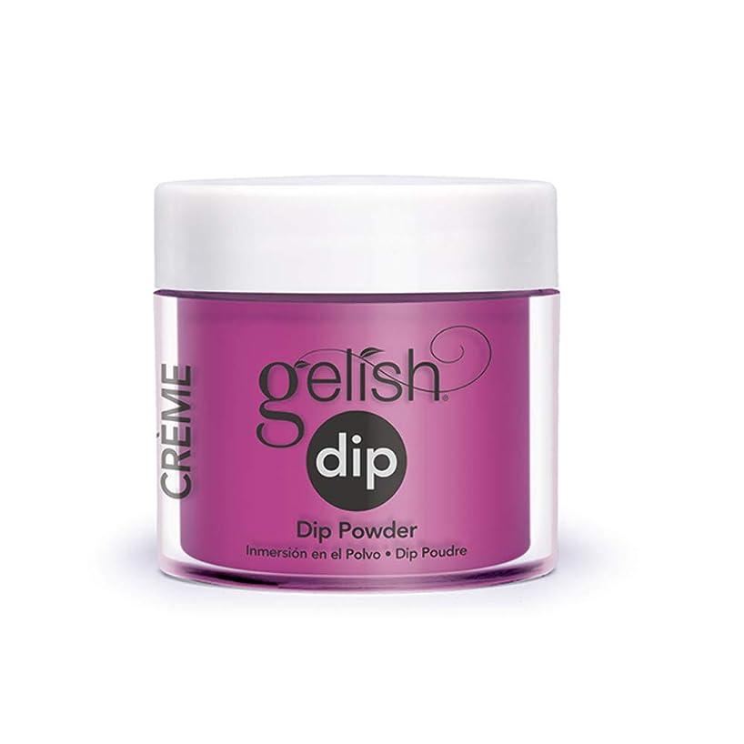 バース罰使い込むHarmony Gelish - Acrylic Dip Powder - Tahiti Hottie - 23g / 0.8oz