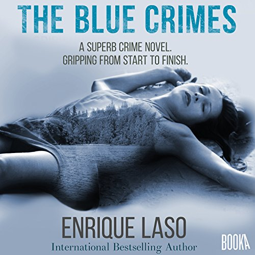 The Blue Crimes audiobook cover art