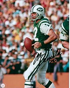 Kirkland Signature Joe Namath, NY Jets 8 X 10 Photo Autograph on Glossy Photo Paper