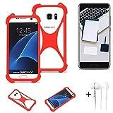K-S-Trade® Mobile Phone Bumper + Earphones For Blackview