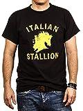 Rocky Balboa Camiseta Hombre Negro XXL
