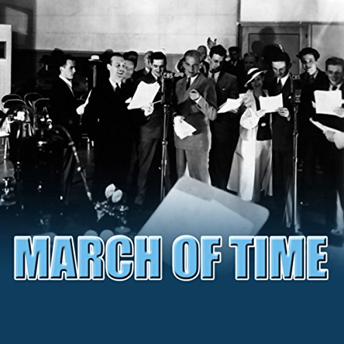 The March of Time audiobook cover art