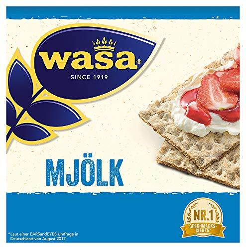 Wasa Knäckebrot Mjölk Familienpackung, 460 g